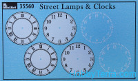 Street lamps & Clocks