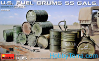 U.S Fuel Drums 55 Gals.