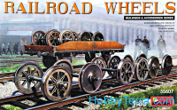 Set of railway wheels
