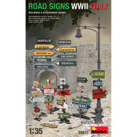 Road Signs WWII (ITALY)