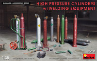 High Pressure Cylinders w/Welding Equipment
