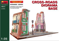 Cross-roads diorama base