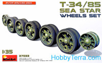 Wheels Set for tank T-34/85