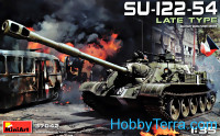 SU-122-54 Soviet self-propelled gun, late type