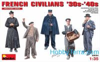 French civilians 1930-40th
