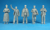 Miniart  38004 French civilians 1930-40th