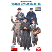 French Civilians '30-'40s. (Resin Heads)
