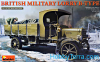 British military truck B-Type WWI