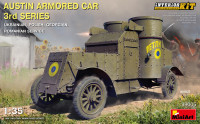Austin Armored Car 3rd Series: Ukrainian, Polish, Georgian, Romanian service (Interior kit)