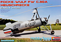 Focke Wulf FW C.30A Grasshopper (Early pod)