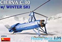Avro Cierva C.30 with winter ski