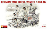 German Tank Crew, winter 1943-1945