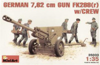FK288r German 76,2mm gun with crew