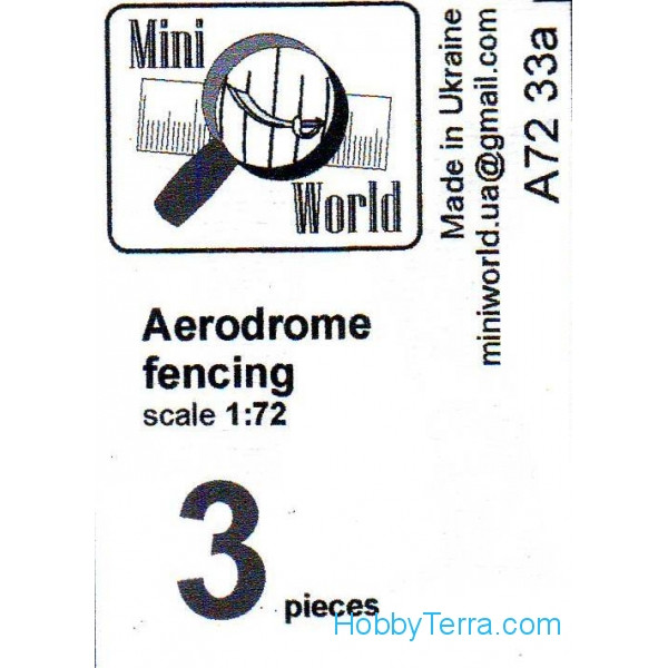 Aerodrome fencing #1 (3 pieces)