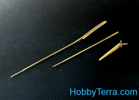 Pitots, antenna for Su-9, for Trumpeter kit