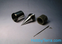 Air intake, pitots for MiG-21PF, for Eduard kit