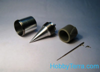 Air intake, pitots for MiG-21PFS, for Eduard kit
