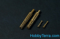 M134 Minigun (early) barrels (2 pieces)