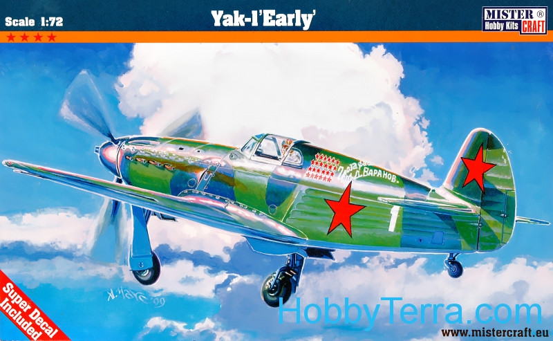 Yakovlev Yak-1 fighter, early