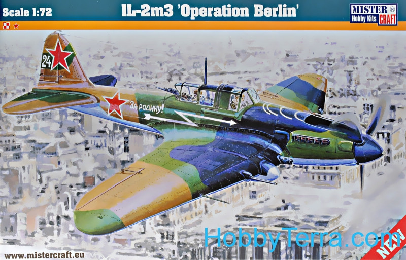"IL-2m3 ""Operation Berlin"" ground-attack aircraft"