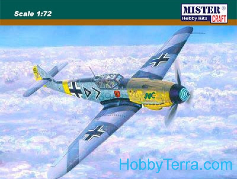 "Messerschmitt Bf-109F-4 ""Hahn"" fighter"
