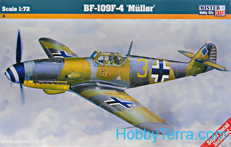 "Messerschmitt Bf-109F-4 ""Muller"" fighter"