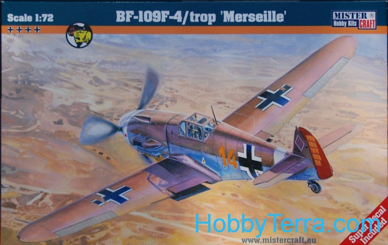 "Messerschmitt Bf-109F-4/Trop ""Marseille"" fighter"