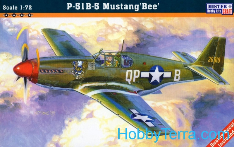 "USAF P-51B-5 ""Mustang Bee"" fighter"