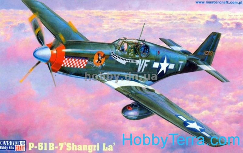 "USAF P-51B-7 ""Shangri La"" fighter"