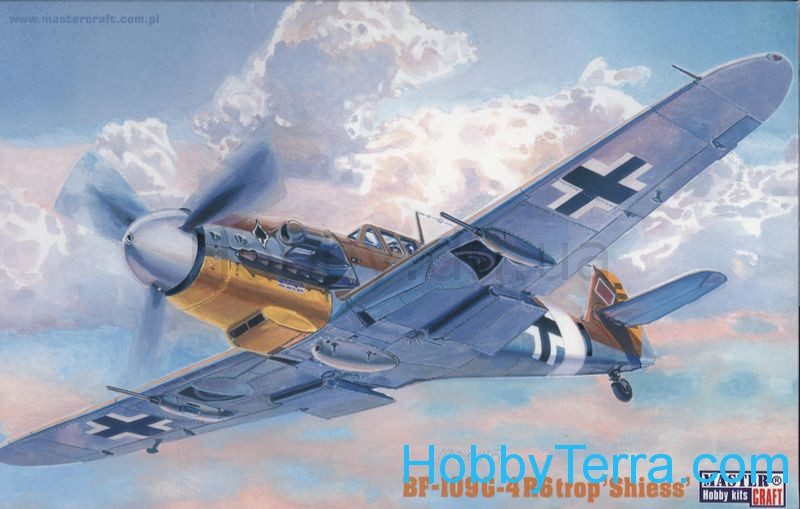 "Messerschmitt Bf-109G-4R6/Trop ""Shiess"" fighter"