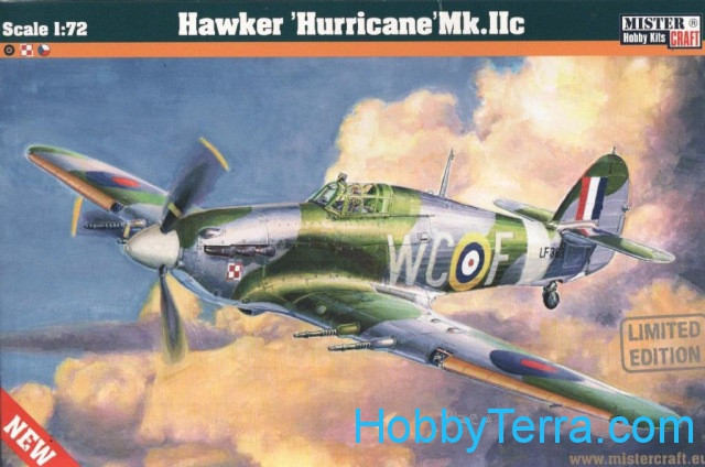 Hawker Hurricane Mk.II RAF fighter