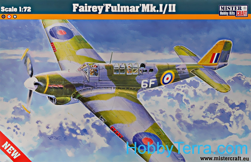 Mister Craft  D217 Fairey Fulman Mk.I/II RAF fighter