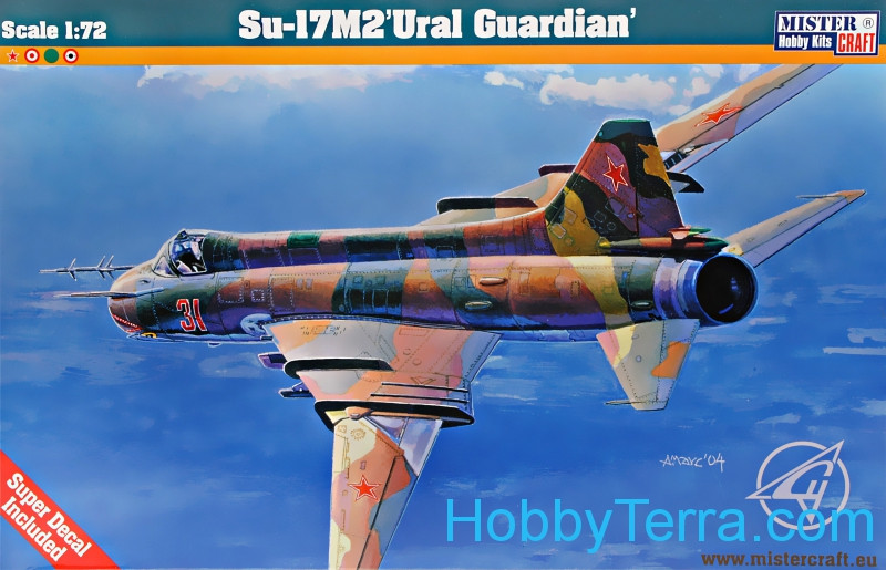"Sukhoi Su-17M2 ""Ural Guardian"" fighter-bomber"