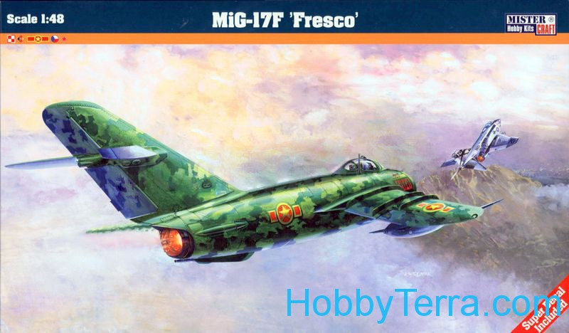 "MiG-17F ""Fresco"" fighter"