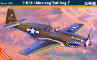 "P-51B-5 ""Mustang Bullfrog I"" fighter"