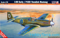 "J-26 early / P-51B ""Swedish Mustang' fighter"