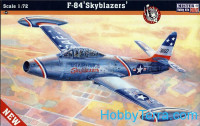 "USAF F-84 ""Skyblazers"" fighter-bomber"