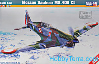 Morane Saulnier MS.406C1 fighter