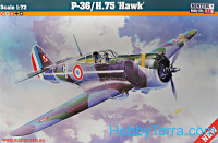 "P-36/H.75 ""Hawk"" fighter"