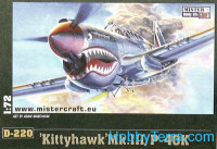 P-40K Kittyhawk Mk.III fighter