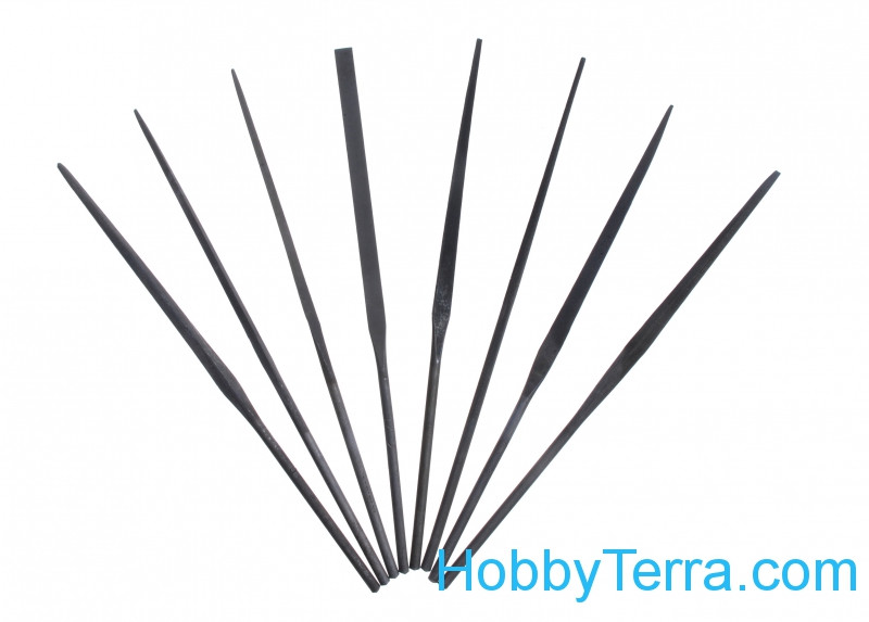 Set of needle files (8 pcs)