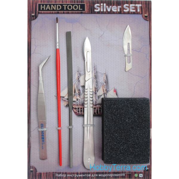 Hand tool, silver set