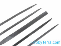 Set of needle files (5 pcs)