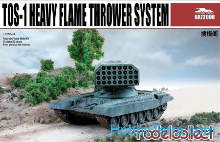 TOS-1 Soviet heavy flamethrower system