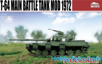 T-64 Soviet main battle tank, model 1972
