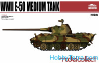 Germany WWII E-50 Medium Tank