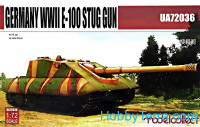 German heavy tank E-100 Stug gun