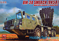"Soviet multiple rocket launcher BM-30 ""Smerch"" (9K58)"
