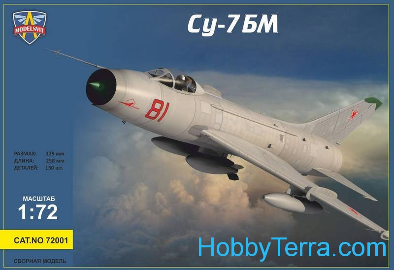 Sukhoi Su-7BM Soviet fighter-bomber - Re-Release