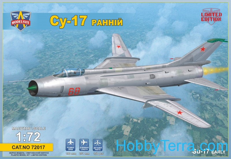Sukhoi Su-17 Soviet fighter-bomber, early version